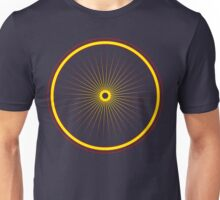 Bike spoke sun Unisex T-Shirt
