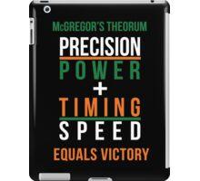 Conor McGregor's Theorem - UFC iPad Case/Skin