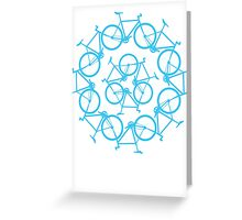 Re-Bicycling Greeting Card