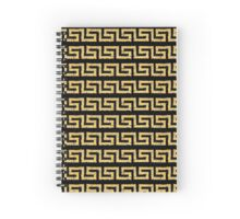 gold chain Spiral Notebook