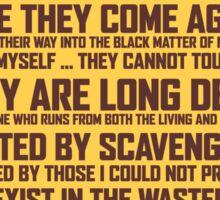 "Mad Max Fury Road - ""Survive"" Sticker"