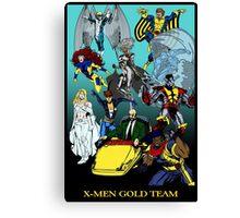 X-Men Gold Team Canvas Print