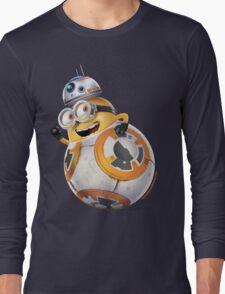 Minion BB-8 Long Sleeve T-Shirt