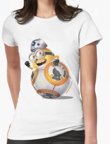 Minion BB-8 Womens Fitted T-Shirt