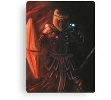Interstellar Knight Canvas Print