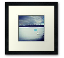 WTF Winter Framed Print