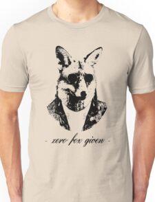 Zero fox given black Unisex T-Shirt