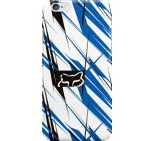 Fox Blue white iPhone Case/Skin