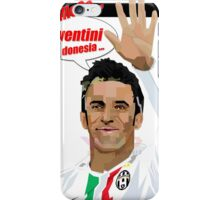 FOOTBALL ALESSANDRO DEL PIERO IL CAPITANO iPhone Case/Skin