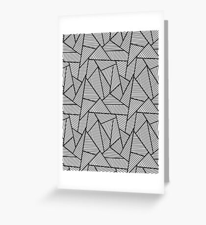 Art Wall Greeting Card