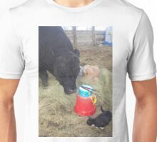 The Little Drummer Bull Unisex T-Shirt