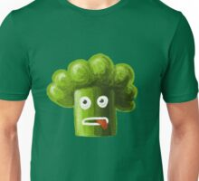 Stressed Out Funny Broccoli Unisex T-Shirt