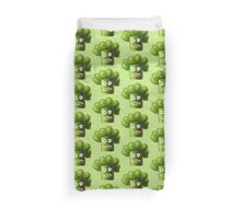 Stressed Out Funny Broccoli Duvet Cover