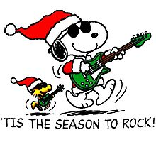 Snoopy Rock X mas by gamefantasia