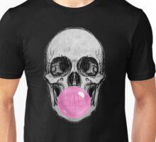 Skull Bubble Gum Unisex T-Shirt