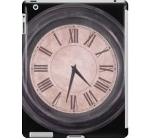 Running Out Of Time iPad Case/Skin