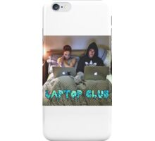 Joe and Caspar Laptop Club iPhone Case/Skin