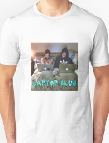 Joe and Caspar Laptop Club T-Shirt