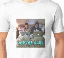 Joe and Caspar Laptop Club Unisex T-Shirt