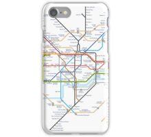 Tube Map as Film Genres iPhone Case/Skin