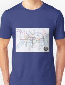 Tube Map as Film Genres T-Shirt