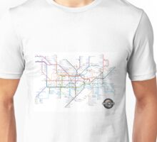 Tube Map as Film Genres Unisex T-Shirt