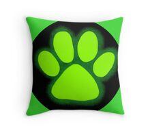 Claw's Out Throw Pillow