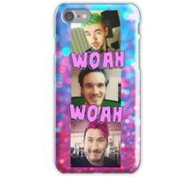 Jacksepticeye, Markiplier, Pewdiepie iPhone Case/Skin