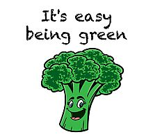It's Easy Being Green! Photographic Print