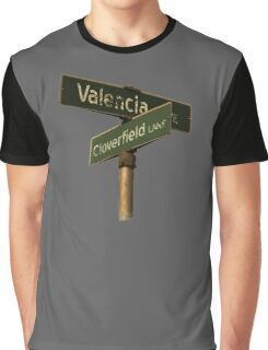 Valencia Ave & Cloverfield Lane Graphic T-Shirt