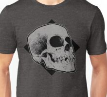 Skull line drawing Unisex T-Shirt