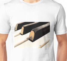 Piano Keyboard Unisex T-Shirt
