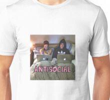 Joe and Caspar Antisocial Unisex T-Shirt