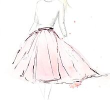 Pink Tulle by FallintoLondon