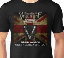 LOGO BULLET FIR MY VALENTINE BRITISH INVASION '16 AFTR Unisex T-Shirt