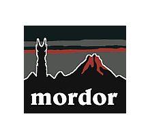Mordor Photographic Print