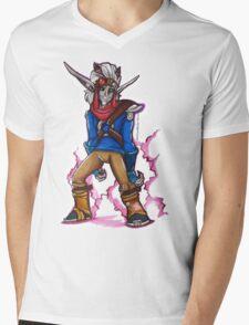 Dark Jak Mens V-Neck T-Shirt