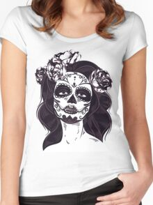 Catrina Mexican Women's Fitted Scoop T-Shirt