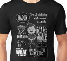 Ron Swanson Montage  Unisex T-Shirt