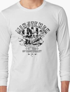 Minutemen Of The Commonwealth Long Sleeve T-Shirt