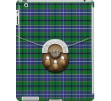 Clan Wishart hunting Tartan And Sporran iPad Case/Skin
