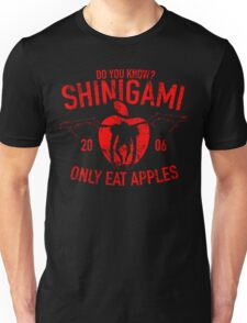 Do you know, Shinigami only eat apples Unisex T-Shirt