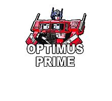 Transformers Optimus Prime MASTERPIECE Photographic Print