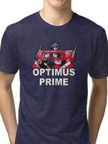 Transformers Optimus Prime MASTERPIECE Tri-blend T-Shirt
