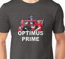 Transformers Optimus Prime MASTERPIECE Unisex T-Shirt