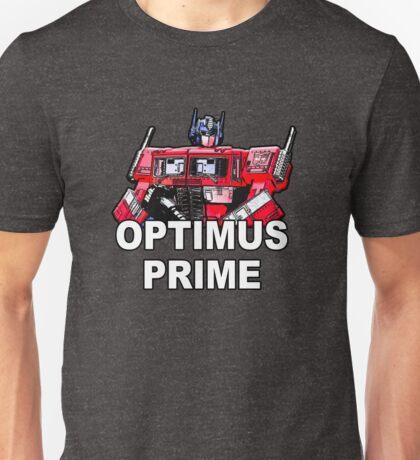 Transformers Optimus Prime MASTERPIECE Unisex T-Shirt