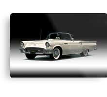 1957 Ford Thunderbird Convertible Metal Print