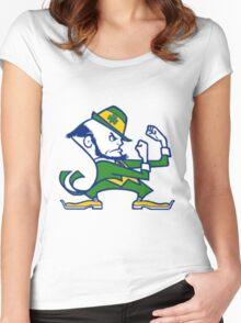 Fighting Irish Notre Dame Women's Fitted Scoop T-Shirt