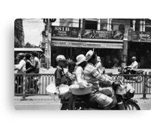 Phnom Penh Traffic Canvas Print