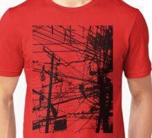 telephone poles Unisex T-Shirt